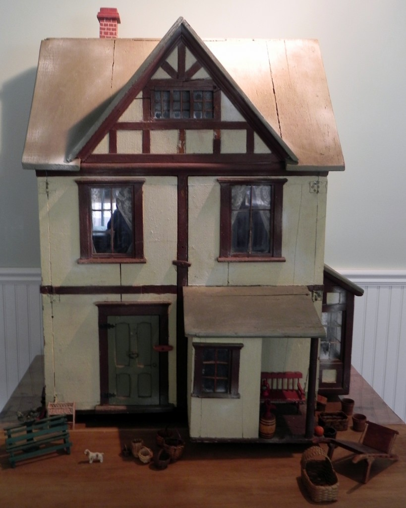 Early 20th century dollhouse donated in 2012 by Quogue resident Mary Shea, on view at the Pond House..