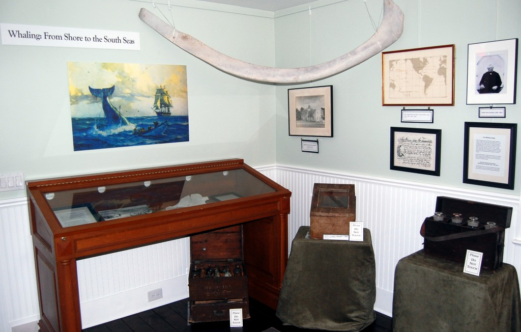 Whaling: From Shore to the South Seas<br/>Exhibition on view at the Pond House.