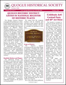 QHS Newsletter Summer 2015