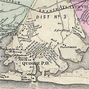 F.W. Beers, Atlas of Long Island, 1873
