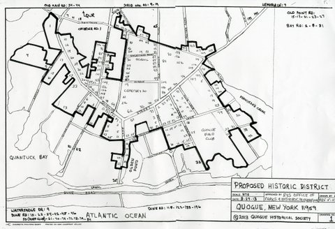 quogue historical map