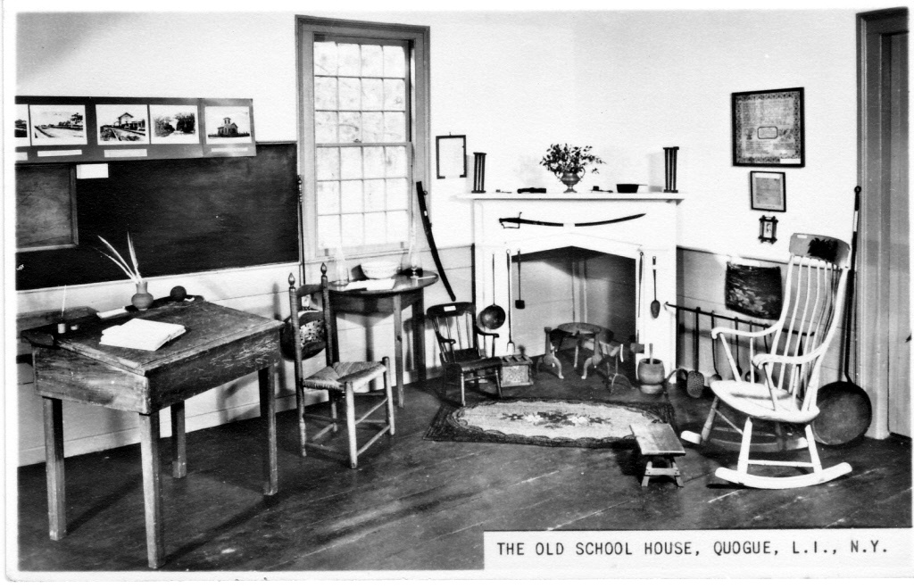 Schoolhouse exhibit